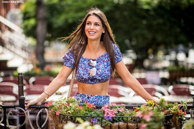 June 20, 2017, Boston, MA: Carolyn Pomeranz poses for a photograph in downtown Boston, Massachusetts Tuesday, June 20, 2017. (Photo by Billie Weiss)