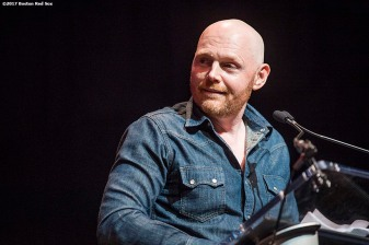 June 22, 2017, Boston, MA: Comedian Bill Burr speaks during the Roast of David Ortiz, benefitting the David Ortiz Children's Fund, at House of Blues in Boston, Massachusetts Thursday, June 22, 2017. (Photo by Billie Weiss/Boston Red Sox)