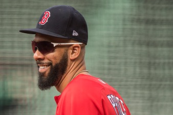 BOSTON, MA - AUGUST 5: David Price #24 of the Boston Red Sox reacts before a game against the Chicago White Sox on August 5, 2017 at Fenway Park in Boston, Massachusetts. (Photo by Billie Weiss/Boston Red Sox/Getty Images) *** Local Caption *** David Price