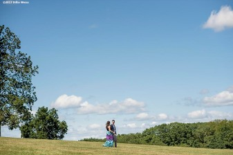 """""""The proposal and engagement of Matthew & Julia at Larz Anderson Park in Brookline, Massachusetts."""""""