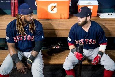 BOSTON RED SOX PHOTOS: 2017 AMERICAN LEAGUE DIVISION SERIES GAME TWO