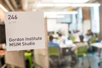 """Class is held in the MSIM Studio at Tufts Gordon Institute at Tufts University in Medford, Massachusetts."""