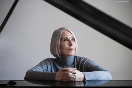January 26, 2018, Baltimore, MD: Pianist Lisa Weiss poses for a portrait at her home in Baltimore, Maryland Friday, January 26, 2018. (Photo by Billie Weiss)