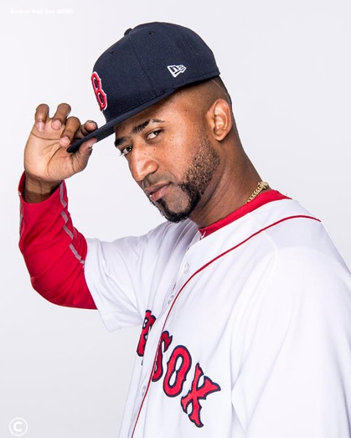 FT. MYERS, FL - FEBRUARY 20: Eduardo Nunez #36 of the Boston Red Sox poses for a portrait on team photo day on February 20, 2018 at jetBlue Park at Fenway South in Fort Myers, Florida . (Photo by Billie Weiss/Boston Red Sox/Getty Images) *** Local Caption *** Eduardo Nunez