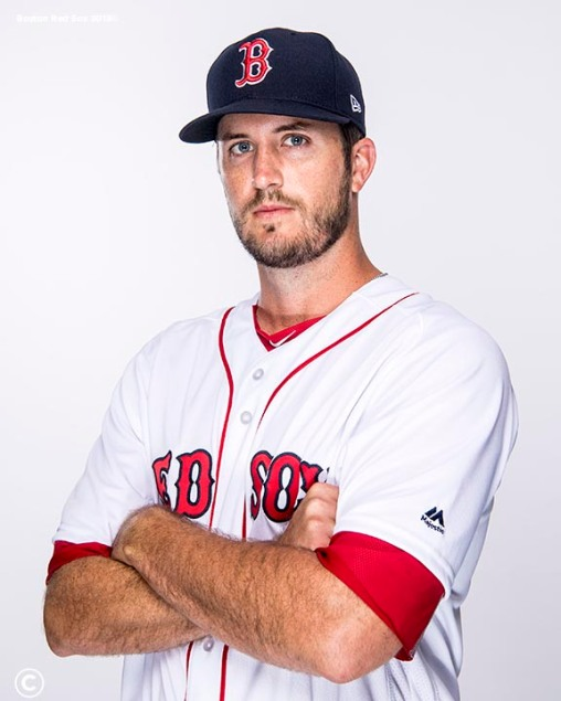 FT. MYERS, FL - FEBRUARY 20: Drew Pomeranz #31 of the Boston Red Sox poses for a portrait on team photo day on February 20, 2018 at jetBlue Park at Fenway South in Fort Myers, Florida . (Photo by Billie Weiss/Boston Red Sox/Getty Images) *** Local Caption *** Drew Pomeranz