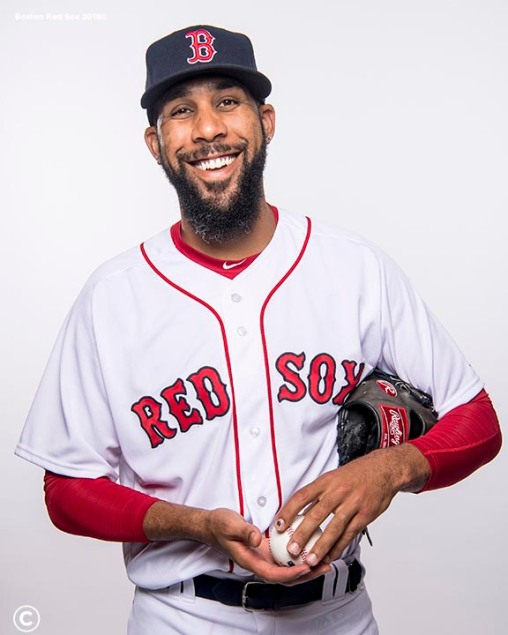 FT. MYERS, FL - FEBRUARY 20: David Price #24 of the Boston Red Sox poses for a portrait on team photo day on February 20, 2018 at jetBlue Park at Fenway South in Fort Myers, Florida . (Photo by Billie Weiss/Boston Red Sox/Getty Images) *** Local Caption *** David Price