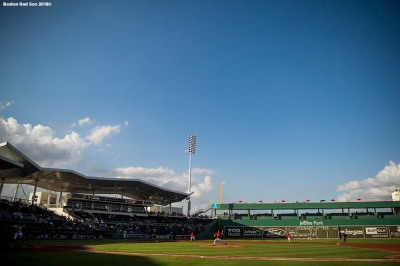 FT. MYERS, FL - FEBRUARY 22: A general view as the Boston Red Sox play against Boston College on February 22, 2018 at jetBlue Park at Fenway South in Fort Myers, Florida . (Photo by Billie Weiss/Boston Red Sox/Getty Images) *** Local Caption ***
