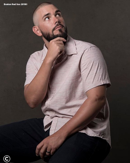 FT. MYERS, FL - MARCH 2: Robby Scott #63 of the Boston Red Sox poses for a portrait on March 2, 2018 at Fenway South in Fort Myers, Florida . (Photo by Billie Weiss/Boston Red Sox/Getty Images) *** Local Caption *** Robby Scott