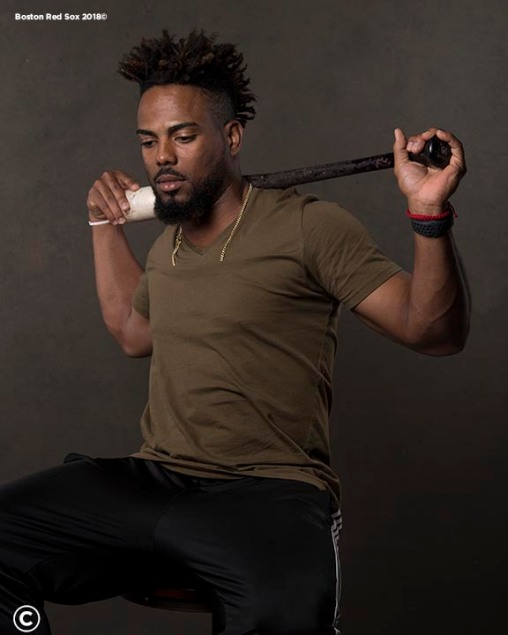 FT. MYERS, FL - MARCH 2: Aneury Tavarez #83 of the Boston Red Sox poses for a portrait on March 2, 2018 at Fenway South in Fort Myers, Florida . (Photo by Billie Weiss/Boston Red Sox/Getty Images) *** Local Caption *** Aneury Tavarez