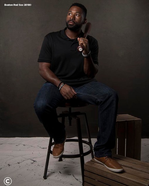 FT. MYERS, FL - MARCH 2: Jackie Bradley Jr. #19 of the Boston Red Sox poses for a portrait on March 2, 2018 at Fenway South in Fort Myers, Florida . (Photo by Billie Weiss/Boston Red Sox/Getty Images) *** Local Caption *** Jackie Bradley Jr.