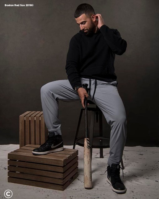 FT. MYERS, FL - MARCH 2: Deven Marrero #17 of the Boston Red Sox poses for a portrait on March 2, 2018 at Fenway South in Fort Myers, Florida . (Photo by Billie Weiss/Boston Red Sox/Getty Images) *** Local Caption *** Deven Marrero