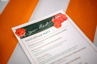 "April 4, 2018, Boston, MA: The ""Oh You Red Sox!"" Nasturtium Party is held at the Isabella Stewart Gardner Museum in Boston, Massachusetts Wednesday, April 4, 2018. (Photo by Billie Weiss/Isabella Stewart Gardner Museum)"