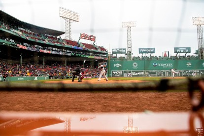 BOSTON, MA - APRIL 15: of the Boston Red Sox during the inning of a game against the Baltimore Orioles on April 15, 2018 at Fenway Park in Boston, Massachusetts. (Photo by Billie Weiss/Boston Red Sox/Getty Images) *** Local Caption ***