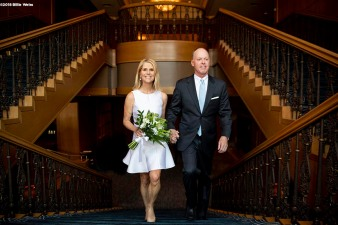 """The wedding of Mark and Heather in Boston, Massachusetts Saturday, April 21, 2018."""
