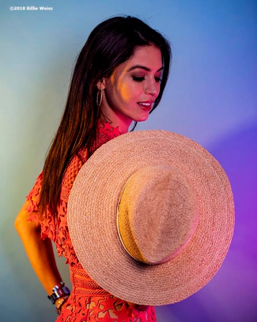 April 30, 2018, Boston, MA: Blogger Carolyn Pomeranz poses for a portrait for Intermix in Boston, Massachusetts Monday, April 30, 2018. (Photo by Billie Weiss)