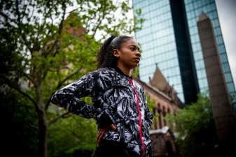 May 20, 2018, Boston, MA: Competition is held during the Adidas Boost Games in Copley Square and Charles Street in Boston, Massachusetts Saturday, May 19, 2018. (Photo by Billie Weiss/Adidas)