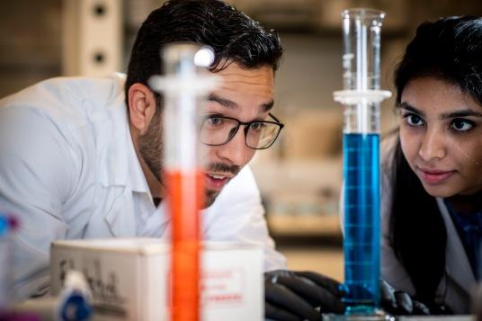 """Elektrofi laboratory work at the Elektrofi office and lab in Boston, Massachusetts."""