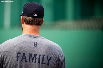 BOSTON, MA - AUGUST 17: Drew Pomeranz #31 of the Boston Red Sox looks on before a game against the Tampa Bay Rays on August 17, 2018 at Fenway Park in Boston, Massachusetts. (Photo by Billie Weiss/Boston Red Sox/Getty Images) *** Local Caption *** Drew Pomeranz
