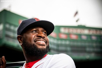 BOSTON, MA - SEPTEMBER 7: Brandon Phillips #0 of the Boston Red Sox poses for a portrait before a game against the Houston Astros on September 7, 2018 at Fenway Park in Boston, Massachusetts. (Photo by Billie Weiss/Boston Red Sox/Getty Images) *** Local Caption *** Brandon Phillips