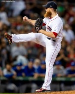 BOSTON, MA - SEPTEMBER 13: Craig Kimbrel #46 of the Boston Red Sox delivers during the ninth inning of a game against the Toronto Blue Jays on September 13, 2018 at Fenway Park in Boston, Massachusetts. (Photo by Billie Weiss/Boston Red Sox/Getty Images) *** Local Caption *** Craig Kimbrel