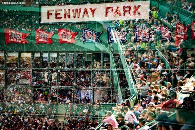 BOSTON, MA - SEPTEMBER 29: Fans look on during a game between the Boston Red Sox and the New York Yankees on September 29, 2018 at Fenway Park in Boston, Massachusetts. (Photo by Billie Weiss/Boston Red Sox/Getty Images) *** Local Caption ***