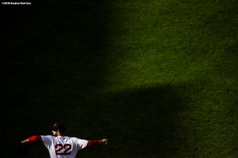 BOSTON, MA - SEPTEMBER 30: Rick Porcello #22 of the Boston Red Sox delivers during the second inning of a game against the New York Yankees on September 30, 2018 at Fenway Park in Boston, Massachusetts. (Photo by Billie Weiss/Boston Red Sox/Getty Images) *** Local Caption *** Rick Porcello