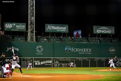 BOSTON, MA - OCTOBER 14: David Price #24 of the Boston Red Sox delivers during the first inning of game two of the American League Championship Series against the Houston Astros on October 14, 2018 at Fenway Park in Boston, Massachusetts. (Photo by Billie Weiss/Boston Red Sox/Getty Images) *** Local Caption *** David Price