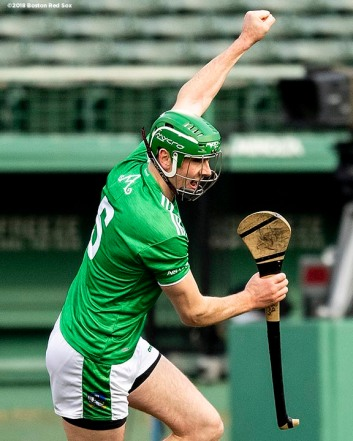 BOSTON, MA - NOVEMBER 18: Limerick faces Westford in a match during the Fenway Hurling Classic on November 18, 2018 at Fenway Park in Boston, Massachusetts. (Photo by Billie Weiss/Boston Red Sox/Getty Images) *** Local Caption ***