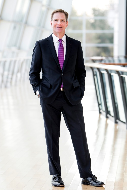 January 9, 2018, Canton, MA: David C. Mitchell, Vice President of External Affairs & Corporate Communications of Boston Mutual Life Insurance Company, poses for a portrait at the Reebok Headquarters in Canton, Massachusetts Tuesday, January 9, 2018. (Photo by Billie Weiss/Boston Mutual Life Insurance Company)