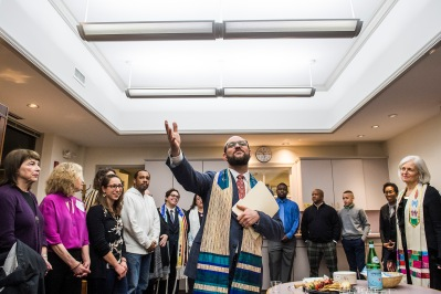 January 12, 2018, Boston, MA: Shabbat Tzedek, a Sabbath of Justice, to celebrate the values of Rev. Dr. Martin Luther King Jr., is held at Temple Israel in Boston, Massachusetts Friday, January 12, 2018. (Photo by Billie Weiss/Temple Israel)