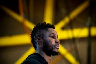 September 5, 2018, Dorchester, MA: Semi Ojeleye of the Boston Celtics hosts a Back to School event at the the Salvation Army Ray and Joan Kroc Corps Community Center in Dorchester, Massachusetts Wednesday September 5, 2018. (Photo by Billie Weiss/Boston Celtics)