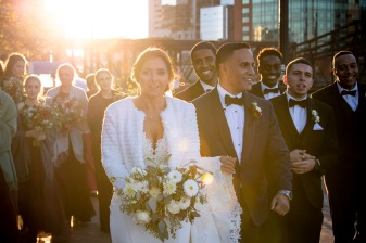 """The wedding of Casey & Daveson at the Royal Sonesta Hotel in Boston, Massachusetts."""