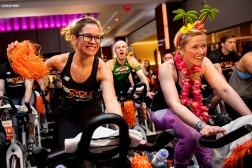 February 3, 2018, Boston, MA: The 2019 Cycle For Survival is held at Equinox in Boston, Massachusetts Sunday, February 3, 2019. (Photo by Billie Weiss/Drawbridge Digital)