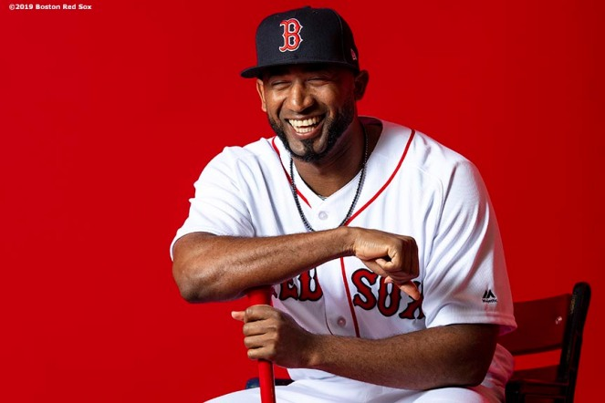 FT. MYERS, FL - FEBRUARY 19: Eduardo Nunez #36 of the Boston Red Sox poses for a portrait on team photo day on February 19, 2019 at JetBlue Park at Fenway South in Fort Myers, Florida. (Photo by Billie Weiss/Boston Red Sox/Getty Images) *** Local Caption *** Eduardo Nunez