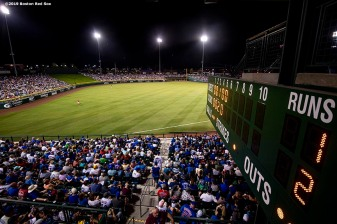 MESA, AZ - MARCH 25: A general view during a spring training game between the Boston Red Sox and the Chicago Cubs on March 25, 2019 at Sloan Park in Mesa, Arizona. (Photo by Billie Weiss/Boston Red Sox/Getty Images) *** Local Caption ***