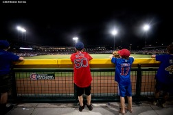 MESA, AZ - MARCH 25: Fans look on during a spring training game between the Boston Red Sox and the Chicago Cubs on March 25, 2019 at Sloan Park in Mesa, Arizona. (Photo by Billie Weiss/Boston Red Sox/Getty Images) *** Local Caption ***