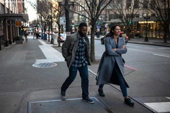 SEATTLE, WA - MARCH 27: Jackie Bradley Jr. #19 of the Boston Red Sox walks to the car with ESPN anchor Jessica Mendoza before a charter flight over Mount Rainier and in Seattle, Washington on March 27, 2019. (Photo by Billie Weiss/Boston Red Sox/Getty Images) *** Local Caption *** Jackie Bradley Jr.; Jessica Mendoza