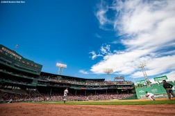 BOSTON, MA - APRIL 15: A general view during a game between the Boston Red Sox and the Baltimore Orioles on April 15, 2019 at Fenway Park in Boston, Massachusetts. (Photo by Billie Weiss/Boston Red Sox/Getty Images) *** Local Caption ***