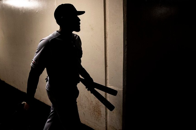 BALTIMORE, MD - MAY 8: Jackie Bradley Jr. #19 of the Boston Red Sox walks through the tunnel before a game against the Baltimore Orioles on May 8, 2019 at Oriole Park at Camden Yards in Baltimore, Maryland. (Photo by Billie Weiss/Boston Red Sox/Getty Images) *** Local Caption *** Jackie Bradley Jr.