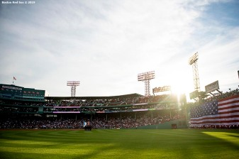 BOSTON, MA - JUNE 7: A general view before a game between the Boston Red Sox and the Tampa Bay Rays on June 7, 2019 at Fenway Park in Boston, Massachusetts. (Photo by Billie Weiss/Boston Red Sox/Getty Images) *** Local Caption ***