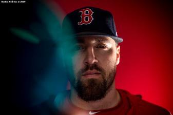BOSTON, MA - JUNE 21: Heath Hembree #37 of the Boston Red Sox poses for a portrait before a game against the Toronto Blue Jays on June 21, 2019 at Fenway Park in Boston, Massachusetts. (Photo by Billie Weiss/Boston Red Sox/Getty Images) *** Local Caption *** Heath Hembree