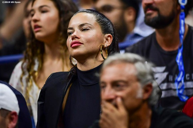 August 30, 2019, New York City, NY: Supermodel Adriana Lima attends the 2019 US Open Tennis Championships at the Billie Jean King National Tennis Center in New York, New York Friday, August 30, 2019. (Photo by Billie Weiss/US Open Tennis Championships)