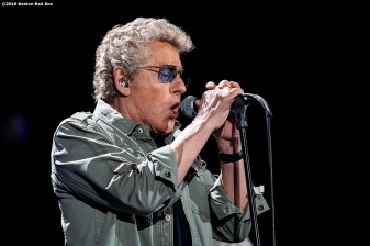 September 13, 2019 , Boston, MA: Roger Daltrey performs during a concert by The Who at Fenway Park in Boston, Massachusetts Friday, September 13, 2019. (Photo by Billie Weiss/Boston Red Sox)
