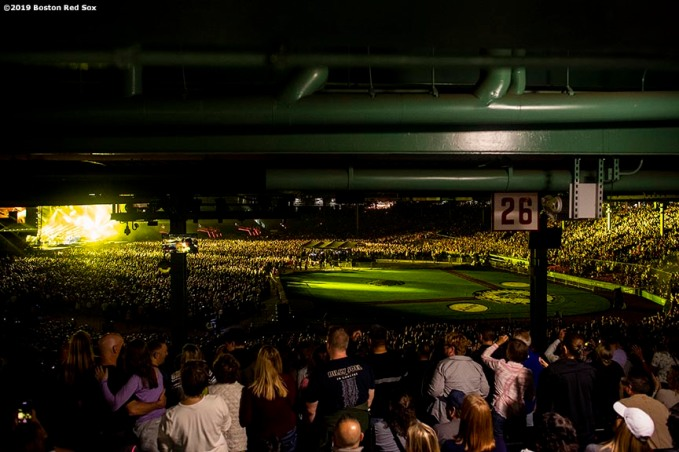 September 14, 2019 , Boston, MA: A general view during a concert by Billy Joel at Fenway Park in Boston, Massachusetts Saturday, September 14, 2019. (Photo by Billie Weiss/Boston Red Sox)