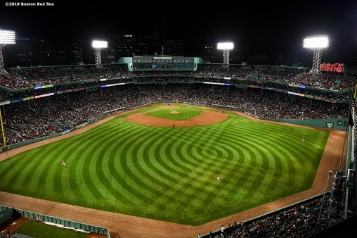 BOSTON, MA - SEPTEMBER 27: A general view is shown during a game between the Boston Red Sox and the Baltimore Orioles on September 27, 2019 at Fenway Park in Boston, Massachusetts. (Photo by Billie Weiss/Boston Red Sox/Getty Images) *** Local Caption ***