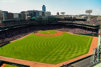 BOSTON, MA - SEPTEMBER 28: A general view during a game between the Boston Red Sox and the Baltimore Orioles on September 28, 2019 at Fenway Park in Boston, Massachusetts. (Photo by Billie Weiss/Boston Red Sox/Getty Images) *** Local Caption ***