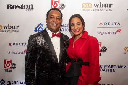 BOSTON, MA - NOVEMBER 1: The Pedro Martinez Foundation Fourth Annual Gala Supporting At-Risk Youth is held on November 1, 2019 at the Mandarin Oriental in Boston, Massachusetts. (Photo by Billie Weiss/Boston Red Sox/Getty Images) *** Local Caption ***