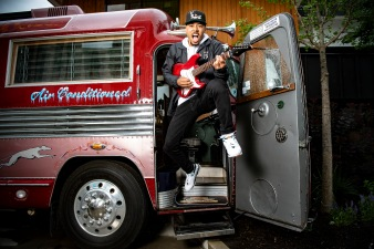 June 25, 2019 , Boston, MA: Boston Red Sox right fielder Mookie Betts poses for a 2019 Major League Baseball All-Star portrait on the bus at the Verb Hotel in Boston, Massachusetts Tuesday, June 25, 2019. (Photo by Billie Weiss/Boston Red Sox)