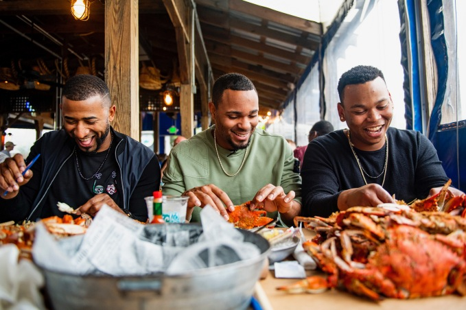 BALTIMORE, MD - MAY 8: of the Boston Red Sox during a visit to Nick's Fish House on May 8, 2019 in Baltimore, Maryland. (Photo by Billie Weiss/Boston Red Sox/Getty Images) *** Local Caption ***
