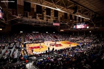 February 4, 2020, Chestnut Hill, MA: A general view during a game between Boston College and Duke University at Conte Forum at Boston College in Chestnut Hill, Massachusetts Tuesday, February 4, 2020. (Photo by Billie Weiss/Boston College)
